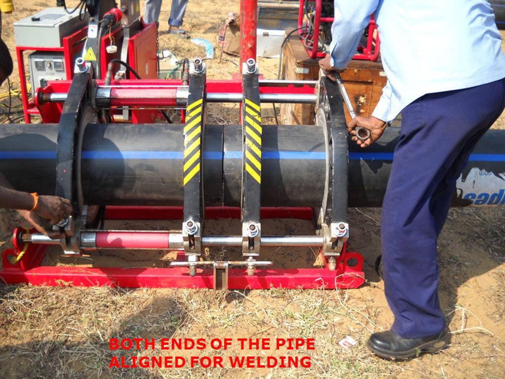 HDPE PIPE WELDING MACHINE